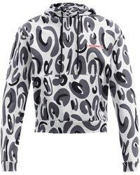 Charles Jeffrey LOVERBOY Lost Boys Printed-cotton Hooded Sweatshirt - Multicolor