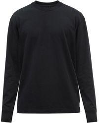 Reigning Champ コットン ロングスリーブtシャツ - ブラック