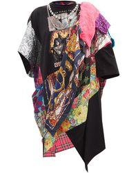 Junya Watanabe X Versace キッス バロックプリント Tシャツドレス - マルチカラー