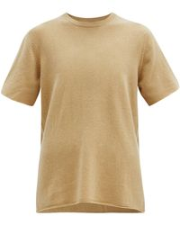 Extreme Cashmere No. 64 カシミアブレンドtシャツ - ナチュラル