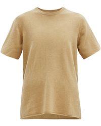 Extreme Cashmere - No. 64 カシミアブレンドtシャツ - Lyst