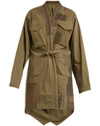 Maharishi - Patchwork Cotton Blend Jacket - Lyst