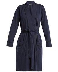 Skin - Omorose Pima Cotton Robe - Lyst