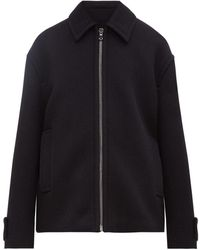 Raey Harrington Wool Jacket - Blue