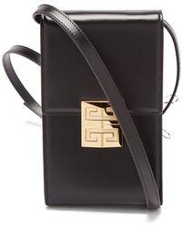 Givenchy 4g ミニ レザーバッグ - ブラック