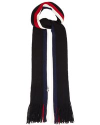 Moncler ストライプ ウールスカーフ - マルチカラー