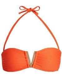 Heidi Klein - Cayman Islands Bandeau Bikini Top - Lyst