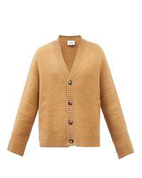 Nanushka Bah Drop-shoulder V-neck Cardigan - Brown