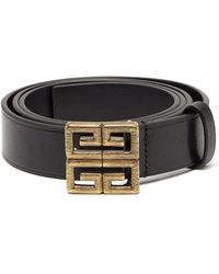 Givenchy - 4g Leather Belt - Lyst