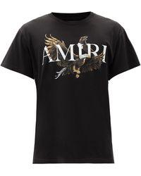 Amiri - イーグル コットンtシャツ - Lyst