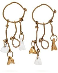 Marni - Mismatched Charm Earrings - Lyst