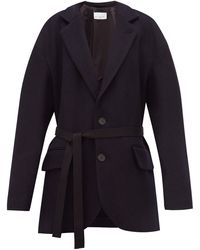 Raey - Oversized Single-breasted Wool Harris-tweed Jacket - Lyst