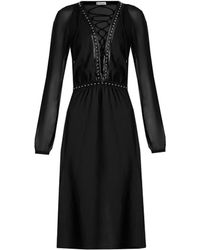 Altuzarra - Millows Lace-up Stud-embellished Dress - Lyst
