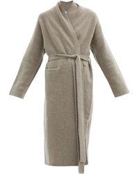Lauren Manoogian Felted Cashmere-blend Longline Cardigan - Multicolour