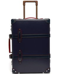 "Globe-Trotter St. Moritz 20"" Cabin Suitcase - Blue"