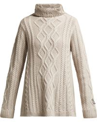 Queene And Belle - Hester Roll-neck Cashmere Sweater - Lyst