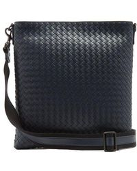Bottega Veneta - Intrecciato Leather Cross-body Bag - Lyst