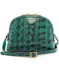 Gucci オフィディア ウォータースネークバッグ - グリーン
