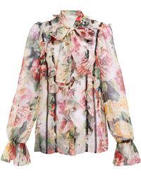 cb027d57fa Women's Dolce & Gabbana Tops - Lyst