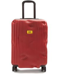 Crash Baggage Stripe Cabin Suitcase 55cm - Red