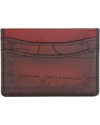 Berluti - Bambou Leather Cardholder - Lyst