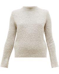 Gabriela Hearst - Phillipe Cashmere-blend Bouclé Round-neck Sweater - Lyst