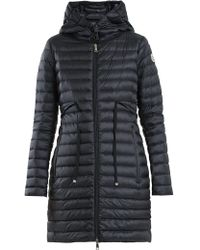 Moncler - Barbel Quilted Down Hooded Coat - Lyst