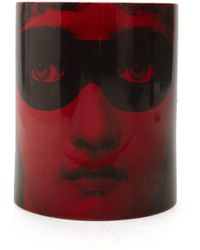 Fornasetti Bougie parfumée Don Giovanni - Rouge