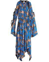 Loewe - X Paula's Ibiza Floral-print Maxi Dress - Lyst