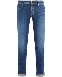 Jacob Cohen - Limited Edition Mid-rise Slim-leg Jeans - Lyst
