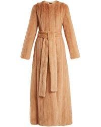 Brock Collection | Freda Mink-fur Coat | Lyst