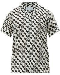 Frescobol Carioca Beijinhos キューバンカラー ショートスリーブシャツ - マルチカラー