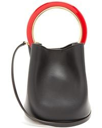 Marni - Pannier Small Circle-handle Leather Bag - Lyst