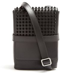 c5149fc37ba Benech Small Spike Embellished Cross Body Bag - Black