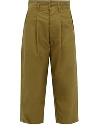 Chimala - Straight-leg Cropped Cotton Chinos - Lyst
