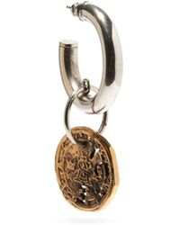 Acne Studios Adiel Coin-charm Single Earring - Metallic