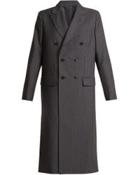 Toga - Oversized Double Breasted Pvc Cut Out Coat - Lyst