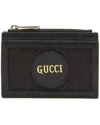 Gucci - Off The Grid Logo-patch Gg-canvas Cardholder - Lyst