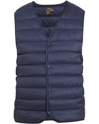 Polo Ralph Lauren - Aerial Quilted Down-padded Gilet - Lyst