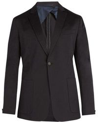 Kilgour - Single-breasted Cotton-blend Blazer - Lyst
