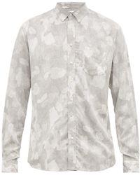 Schnayderman's カモフラージュプリント ツイルシャツ - マルチカラー