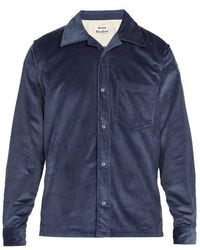Acne Studios - Cotton Corduroy Shirt - Lyst