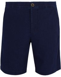 Oliver Spencer - Kildale Mid Rise Cotton Shorts - Lyst