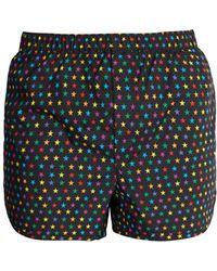 Valentino - Star Print Swim Shorts - Lyst