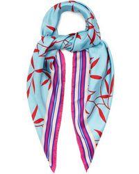 Diane von Furstenberg - Shelton-print Silk Scarf - Lyst
