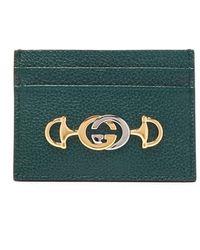 Gucci - グッチ ズゥミ グレインレザーカードケース - Lyst