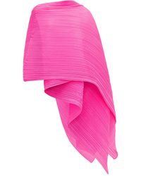 Pleats Please Issey Miyake Madame Pleated Scarf - Pink