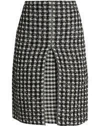 Sonia Rykiel | Checked-tweed A-line Skirt | Lyst