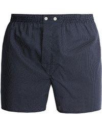 Derek Rose - Pin-dot Cotton Boxer Shorts - Lyst