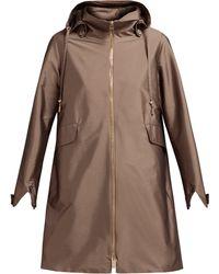 Herno - Manteau à capuche et taille à cordon coulissant - Lyst